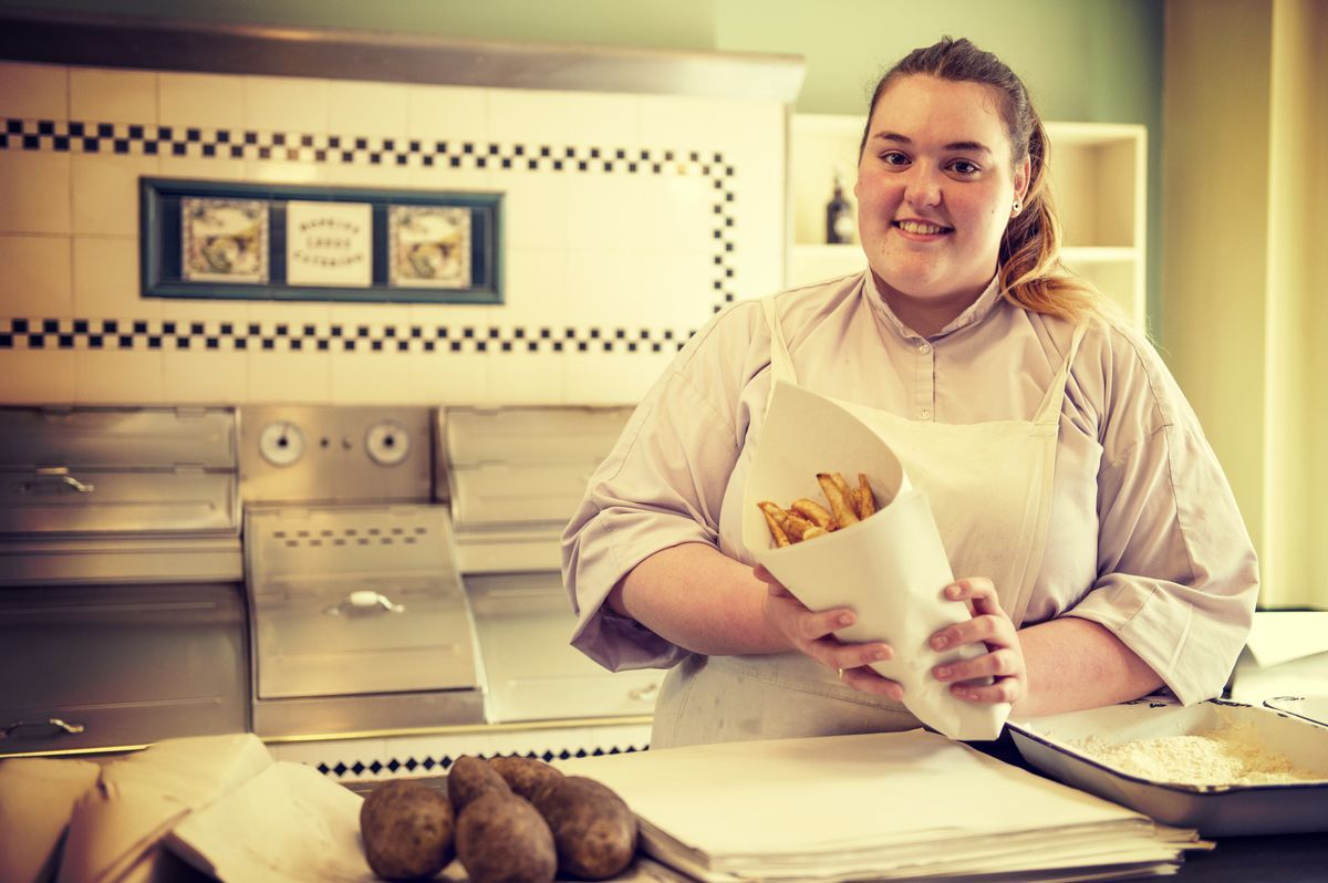 The famous chip shop is getting ready to fry again at the Ironbridge Gorge Museum Trust