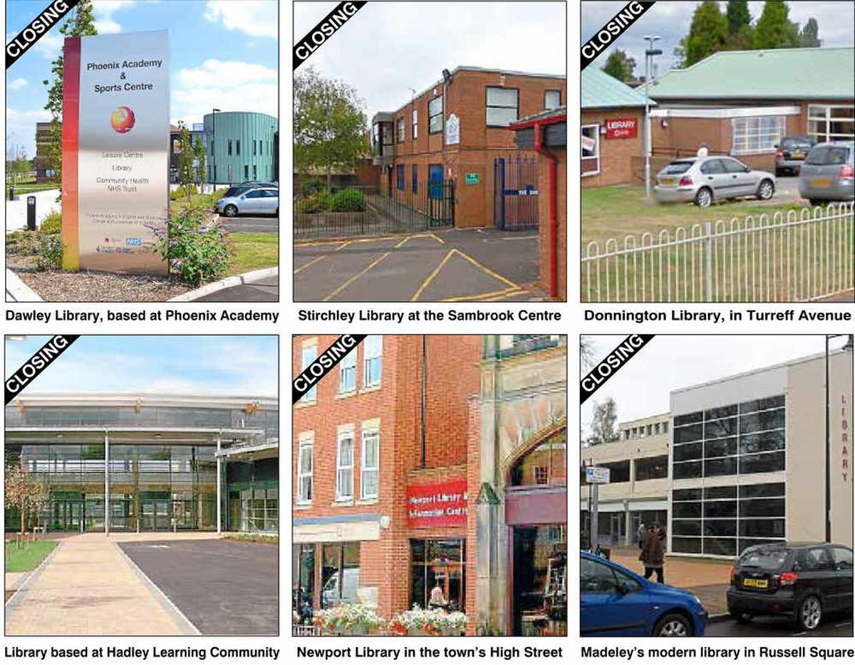 Libraries, markets and centres to go as Telford & Wrekin services slashed in £30 million cuts
