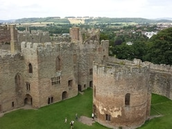 Work begins on new roof for Ludlow Castle's chapel