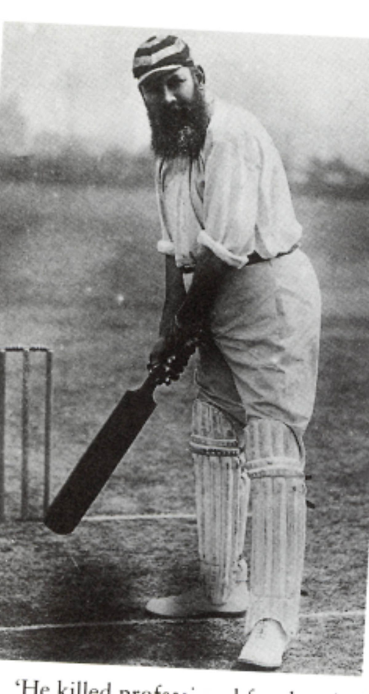W G Grace who played at Enville Cricket Club
