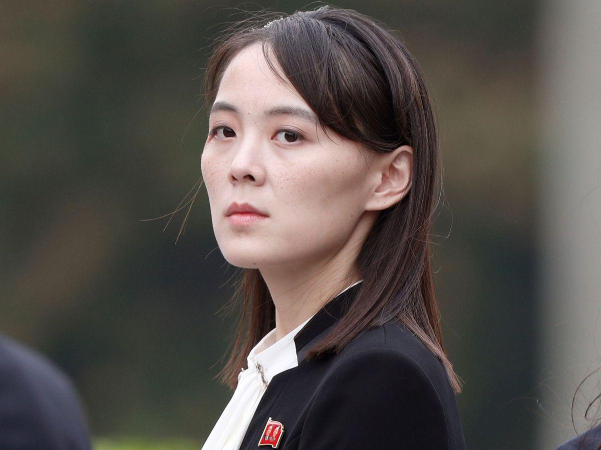 Kim Yo Jong, sister of North Korea's leader Kim Jong Un (Jorge Silva/AP