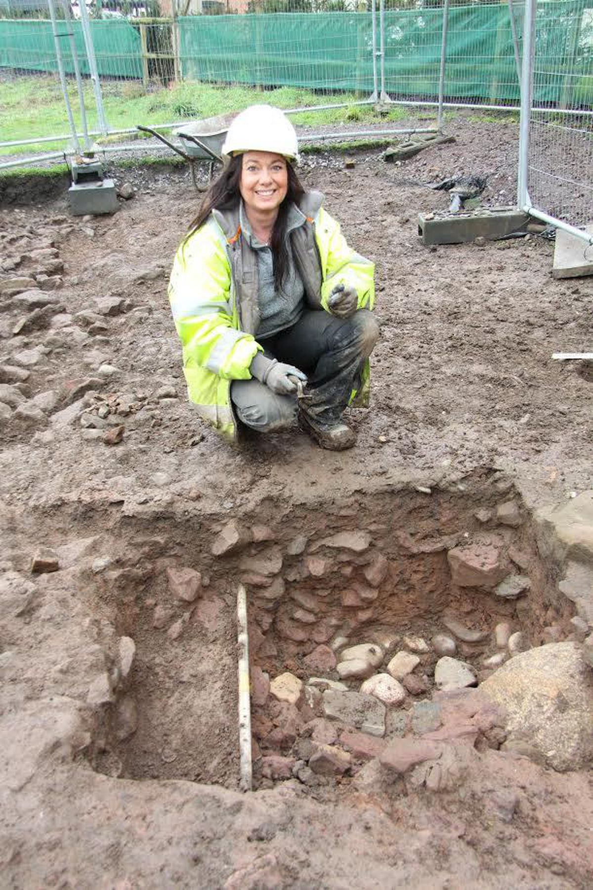 Archaeologist Janey Green