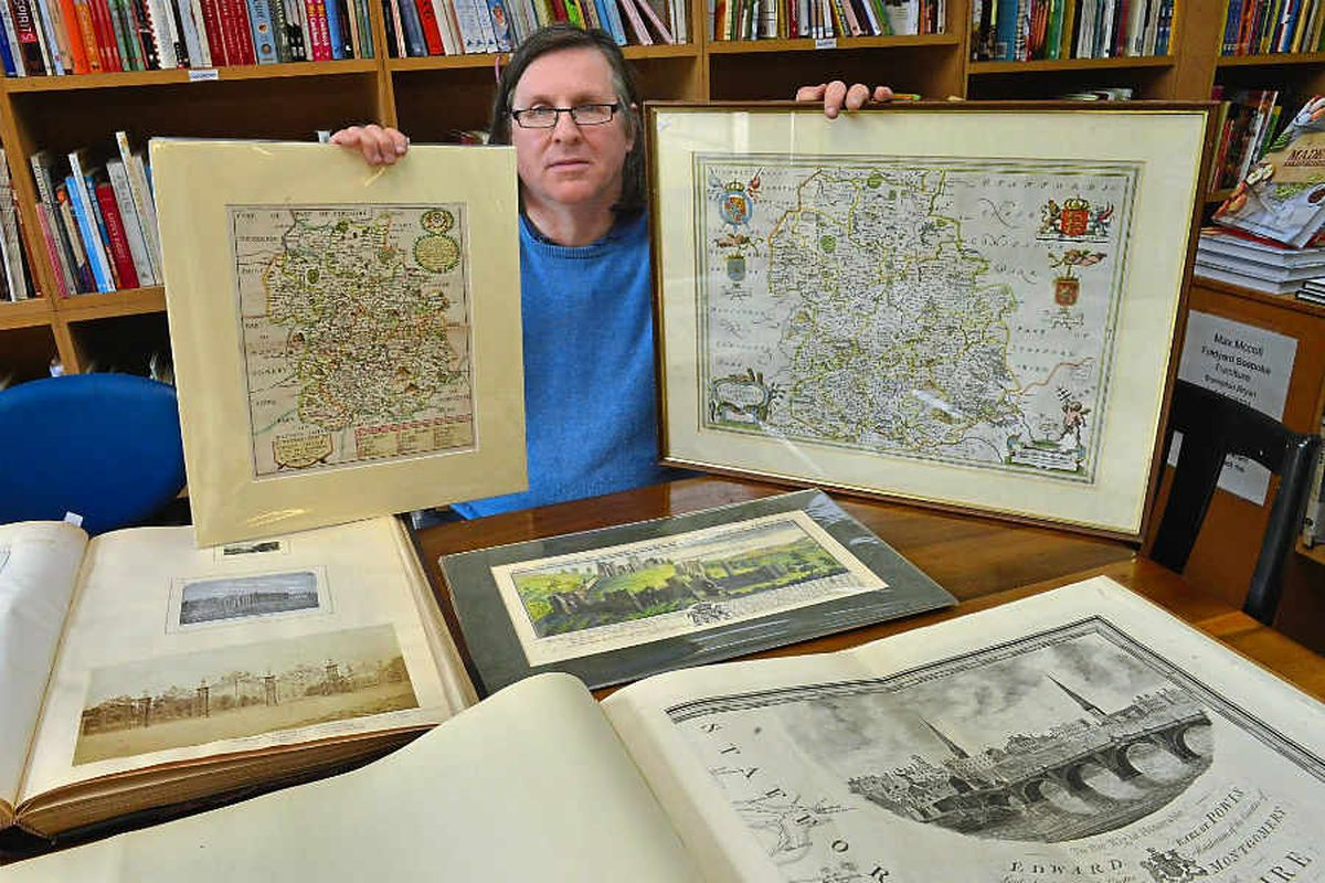 Maps made in the time of Shakespeare to be displayed in Shropshire