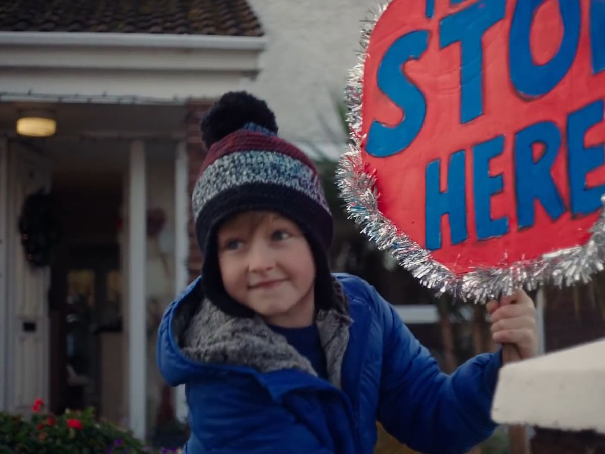 The advert takes inspiration from a Christmas of uncertainty amid the Covid-19 pandemic (SuperValu/PA)
