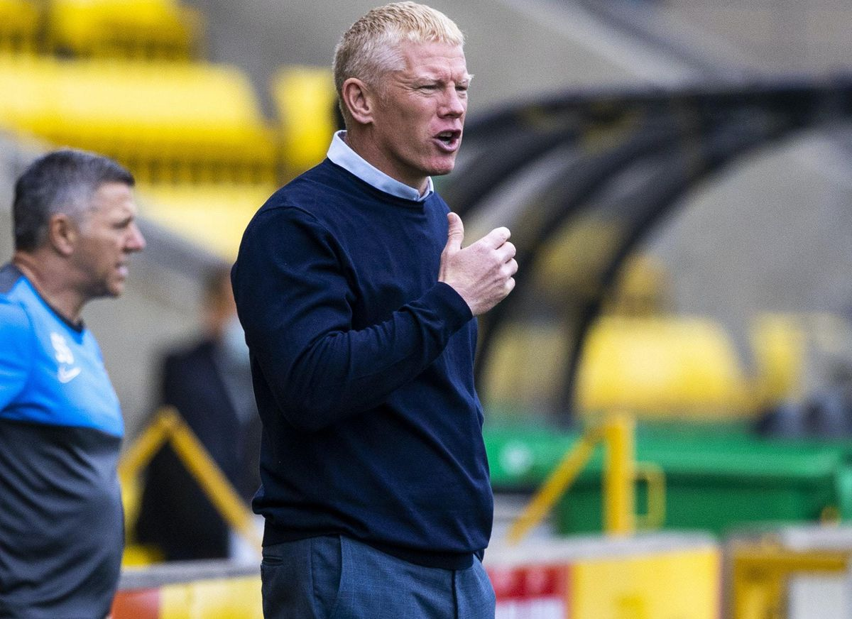 Livingston boss Gary Holt defendd loan keeper Robby McCrorie over a blunder against Kilmarnock.