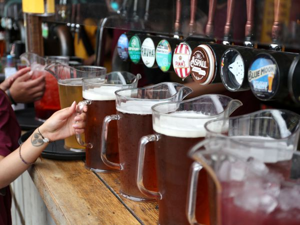 Draught beer and cider taxes cut