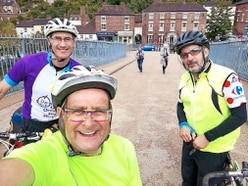 Stuck in the Myddle with you: Timmy Mallett's 'utterly brilliant' ride around Shropshire - with pictures