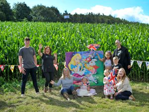 The annual maize maze is now open at Kinver Edge Farm Shop, this year with a Disney theme