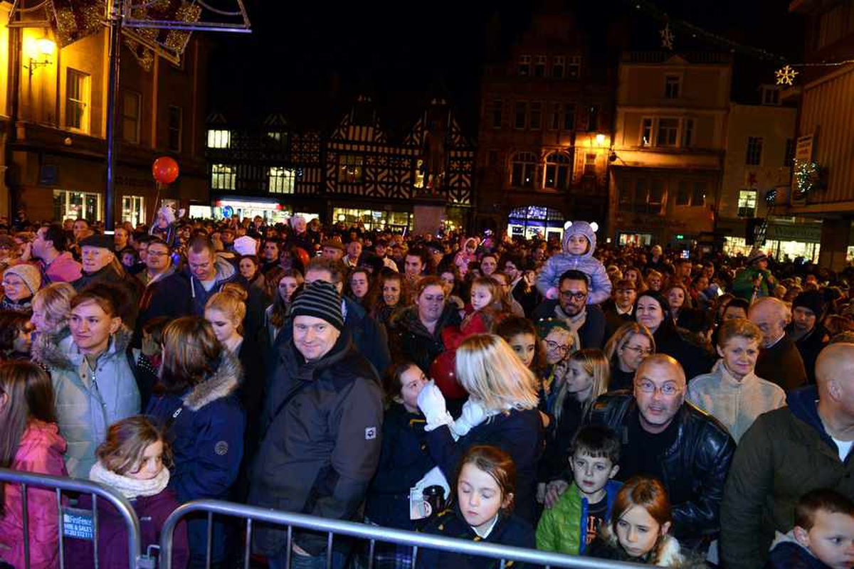 Shrewsbury Christmas lights switch-on set to be a cracker