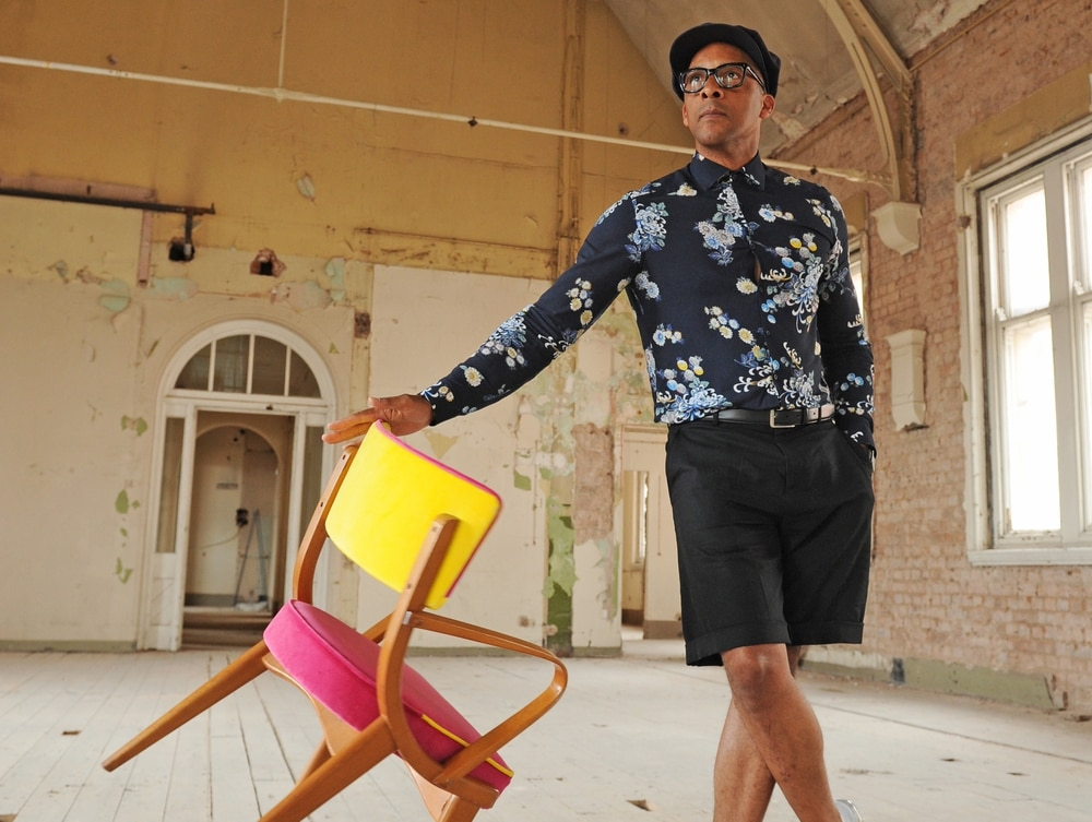 Furniture Designer Turned Tv Star Jay Blades Chats About His Style