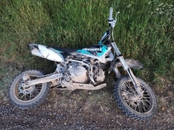 Off-road bike seized as youths cause nuisance on Shrewsbury playing field