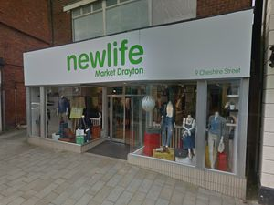 The Newlife store in Market Drayton, which will reopen next week. Photo: Google Maps