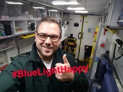 #BlueLightHappy: Big thanks to Midlands ambulance workers