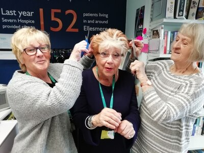 Issie to brave the shave for charity