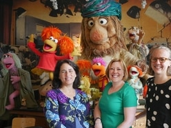 Shropshire lecturer meets Muppets as part of research