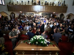 Hundreds attend funeral of El Paso victim after public invited