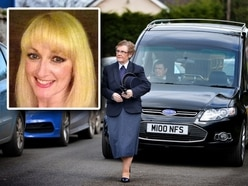 Family and friends say farewell to Newport shooting victim Cheryl Hooper