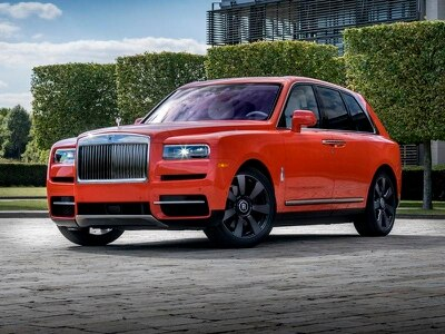 Rolls-Royce Cullinan gets bespoke Fux Orange treatment