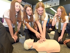 Shifnal students take CPR skills to heart