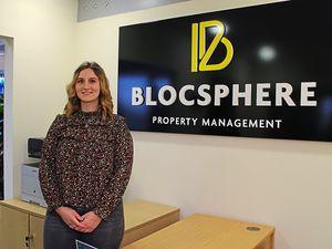 Tara Rodenhurst, customer service level two apprentice at Blocsphere