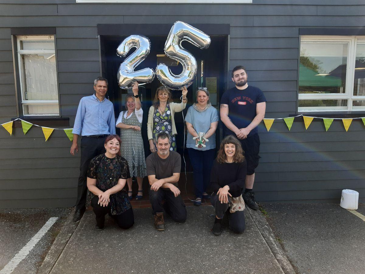 Enterprise South West Shropshire staff celebrate 25 years