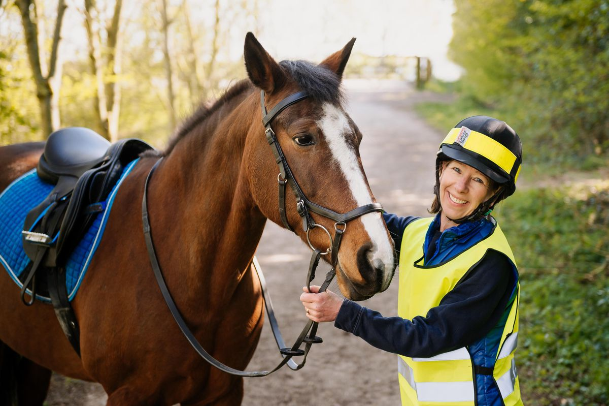 BBC Radio Shropshire Newsreader Faith Page will be riding the length of Shropshire on her horse to raise money for the Shrewsbury Food Hub