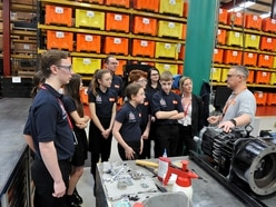 Telford students receive an insight into vital STEM skills in action at Busch
