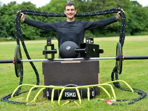 LAST COPYRIGHT TIM STURGESS SHROPSHIRE STAR...... 10/06/2021  Ben Turner who has launched a new outdoor fitness business, Inde-fit. Pictured at Frankwell Community Field, Shrewsbury....