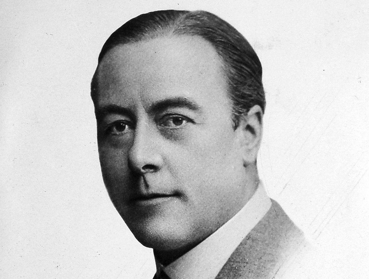 Entertainer George Robey stayed at Shrewsbury