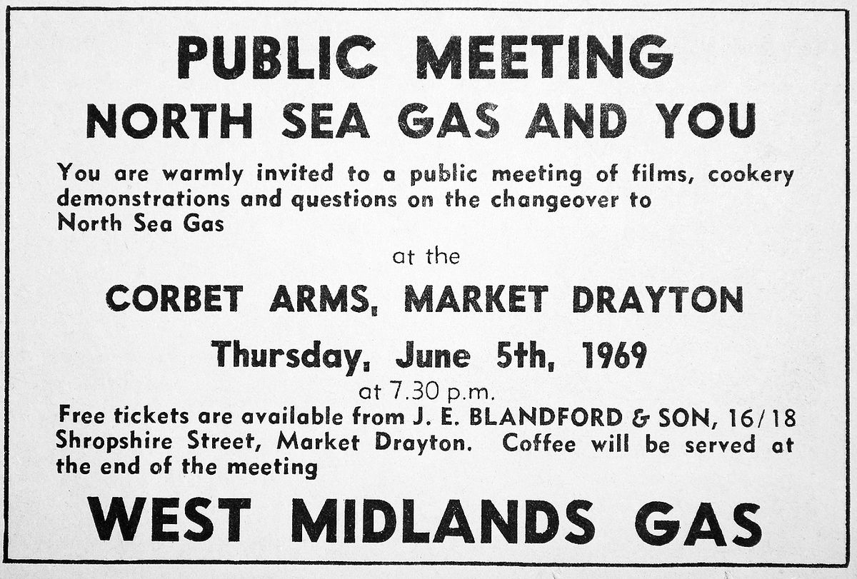 Drayton folk were invited to a public meeting to have it all explained