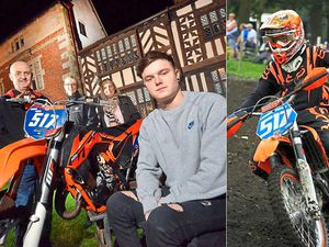 Fundraiser to help paralysed Shropshire Moto X rider get pioneering treatment abroad