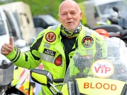 Queen's honour for Shropshire blood bikers - delivering life in the fast lane