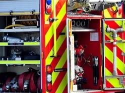 Three fire crews called to kitchen blaze in Telford