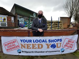 Steve Robbins, chairman of Bridgnorth Chamber of Commerce