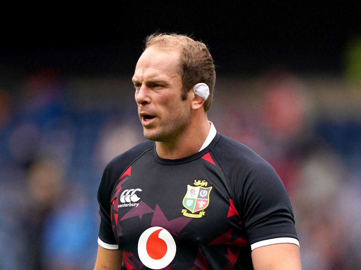 Alun Wyn Jones will lead the Lions against South Africa on Saturday