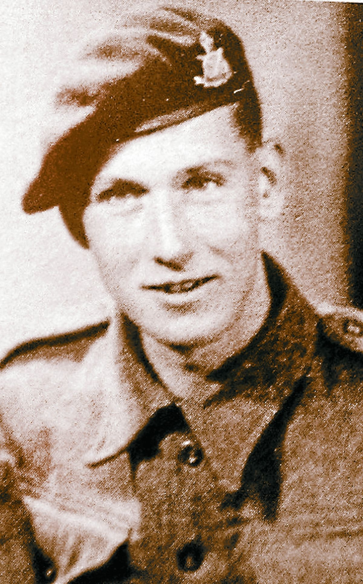 Tom Brewin in his forces days