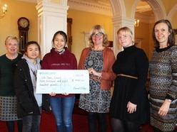 Shropshire college and children's charity support Gambian nursery school project