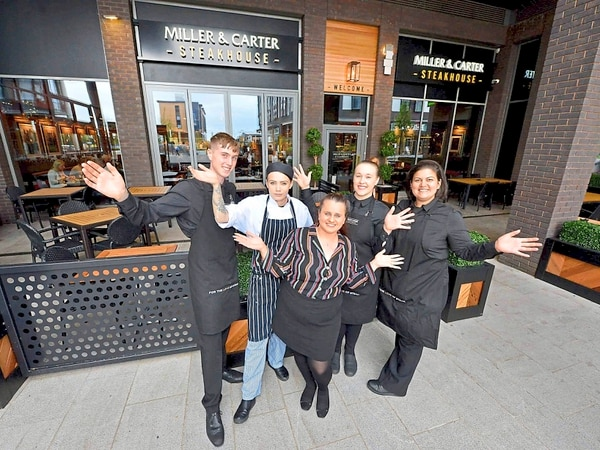 Sizzling start for new Telford steakhouse