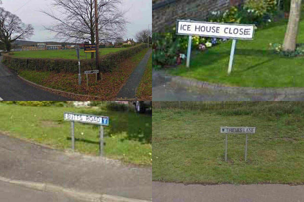 Shropshire street names: The weird, the wonderful and the downright rude