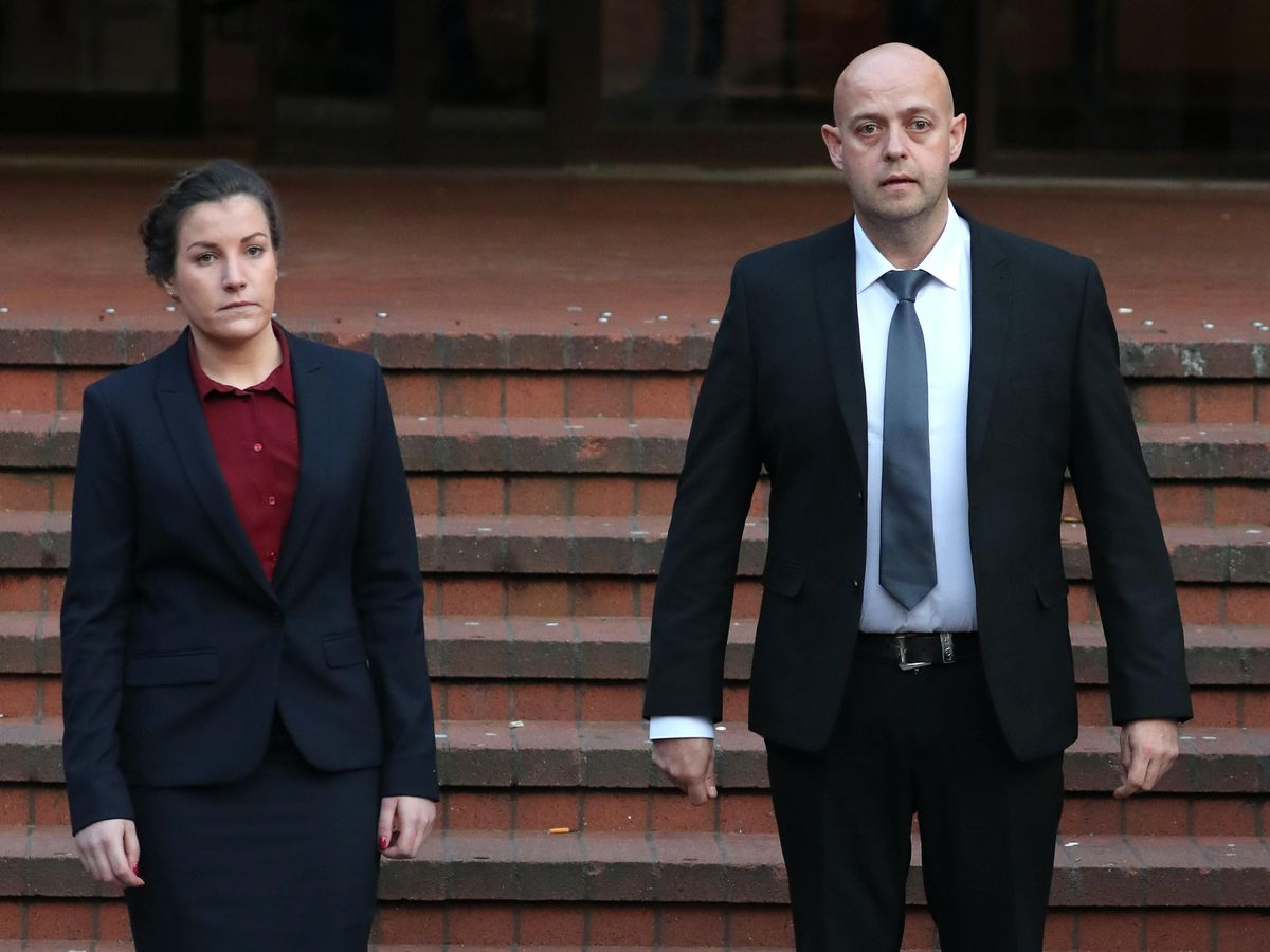Police Constables Mary Ellen Bettley-Smith and Benjamin Monk