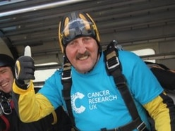 PCSO Graham jumps from lofty heights to raise money for charity