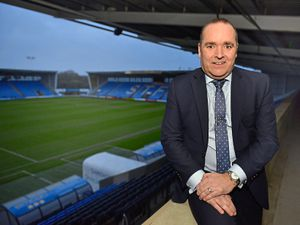 Shrewsbury Town Chief Executive Brian Caldwell