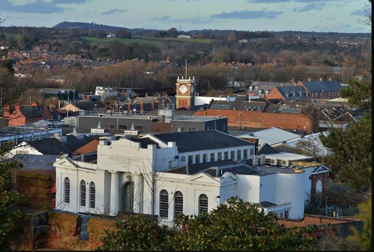 The Buttermarket in Shrewsbury