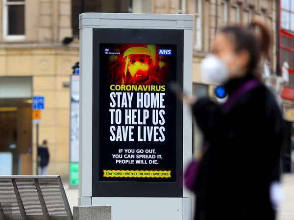 Electronic bilboards displays a message warning people to stay home in Sheffield as the UK continues in lockdown to help curb the spread of the coronavirus. PA Photo. Picture date: Tuesday March 31, 2020. A total of 1,408 patients have died after testing positive for coronavirus in the UK as of 5pm on Sunday. See PA story HEALTH Coronavirus. Photo credit should read: Mike Egerton/PA Wire.