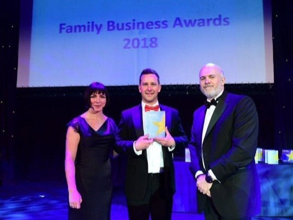 Telford firm hailed as fastest growing family business in the Midlands