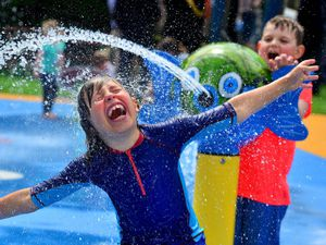 Shrewsbury's splash park has proved a huge success – one Oswestry could be looking to replicate