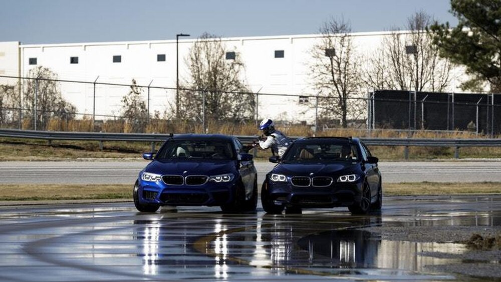 New BMW M5 Completes Record Drift