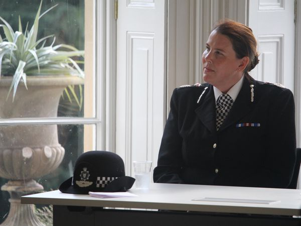 New chief constable Pippa Mills takes up her role