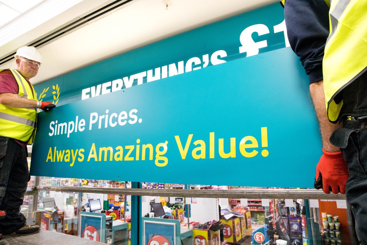 Poundland is moving to a bigger site in Telford