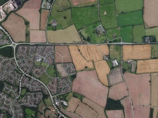 Police hunt driver after man killed in Telford crash